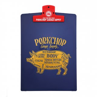 <img class='new_mark_img1' src='https://img.shop-pro.jp/img/new/icons5.gif' style='border:none;display:inline;margin:0px;padding:0px;width:auto;' />PORKCHOP GARAGE SUPPLY CLIPBOARD/NAVY×RED