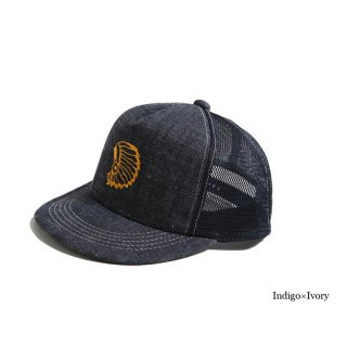 <img class='new_mark_img1' src='https://img.shop-pro.jp/img/new/icons5.gif' style='border:none;display:inline;margin:0px;padding:0px;width:auto;' />TROPHY CLOTHING トロフィークロージング DIRT DENIM CHIEF TRACKER CAP