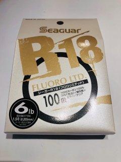 シーガー R18 フロロリミテッド 6lb