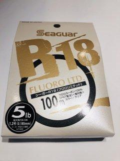 シーガー R18 フロロリミテッド 5lb