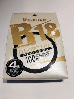 シーガー R18 フロロリミテッド 4lb