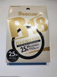 シーガー R18 フロロリミテッド 25lb