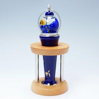 有田焼万華鏡 蘭花散らし(ガラス球型オイル)(香蘭社)