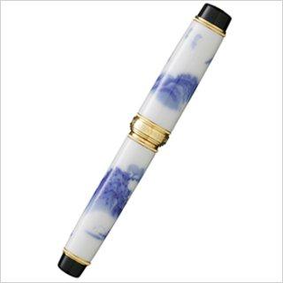 有田焼ボールペン The ARITA 染山水(香蘭社)
