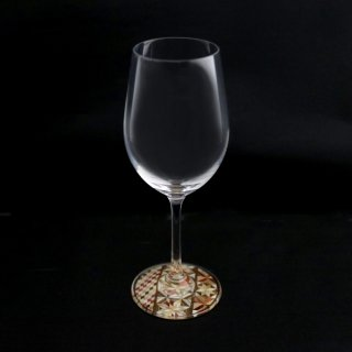 ミュゼグラス 寄木細工[Cタイプ](ワイングラス)