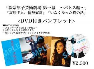 ★「森奈津子芸術劇場」パンフレット(DVD付)