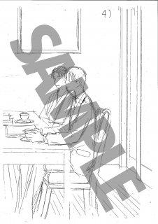 ★「怜々蒐集譚」モノクロ絵ハガキ B-3 葛葉&南&出泉 2/2