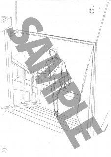★「怜々蒐集譚」モノクロ絵ハガキ A-2 南 階段