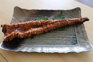 濃厚肉厚!浜の漁師秘伝のタレを塗った手焼き真穴子蒲焼(はまから)