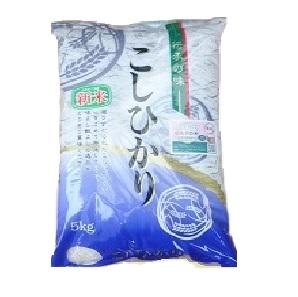 【送料無料対象】 ≪令和2年産≫ 福島県産コシヒカリ 白米5kg(みどりや商店)