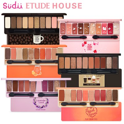 <img class='new_mark_img1' src='https://img.shop-pro.jp/img/new/icons30.gif' style='border:none;display:inline;margin:0px;padding:0px;width:auto;' />【ETUDE HOUSE】 プレイカラーアイシャドウ パレット Play Color Eye Shadow Palette