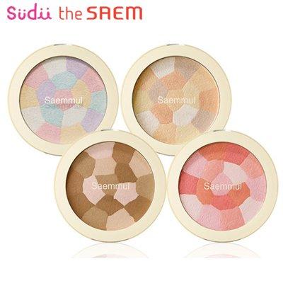 【the SAEM】ザセム セムムル ルミナスマルチハイライター シェーディング Luminous Multi Highlighter Multi-Shading 韓国コスメ