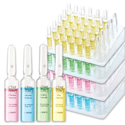 【the SAEM】ザセム アクティブソース アンプル Active Source Ampoule 2mlx30EA All Renew Hyaluron Peeling Vita