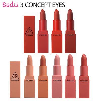 【3CE】ムードレシピ リップ カラー / MATTE / RED / MOOD RECIPE LIP COLOR