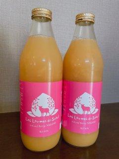 黄金桃と白桃のジュース3本セット