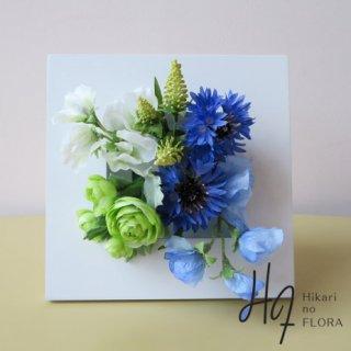 光触媒アートフラワーフレーム【グリーン・ブルー】新築祝いやご結婚祝いに。