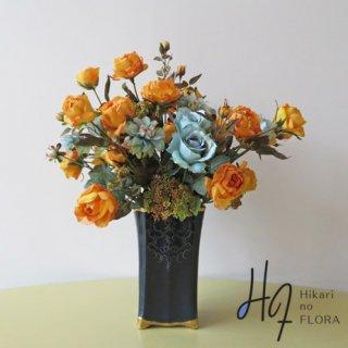 高級造花アレンジメント【ピクト】秋冬をアートな空間で過ごす。オシャレな感性で、ワンランク上のインテリアで。
