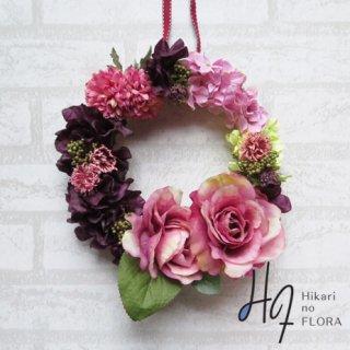 光触媒加工・壁掛けリース【wreath268】wreath(リース)は永遠と愛の象徴です。「商品メニュー → リースwreath」に沢山あります。