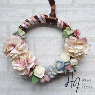 光触媒加工・壁掛けリース【wreath277】オシャレなリースです。wreath(リース)は永遠と健康と愛情の象徴です。
