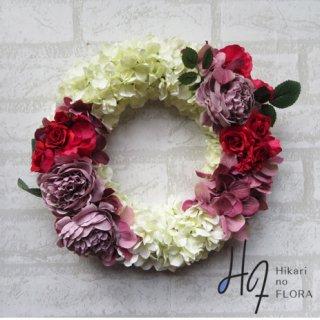 光触媒加工・壁掛けリース【wreath289】美しいおしゃれなリースです。wreath(リース)は永遠と健康と愛情の象徴です。