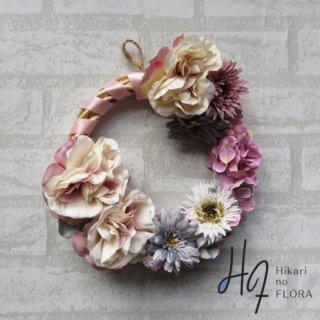 光触媒加工・壁掛けリース【wreath307】個性的なリースです。wreath(リース)は永遠と健康と愛情の象徴です。