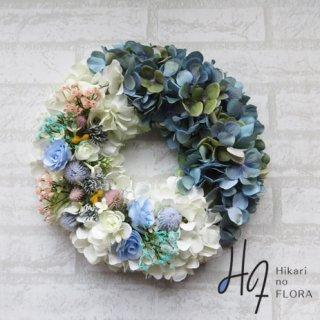 光触媒加工・壁掛けリース【wreath320】オシャレな、とてもオシャレなリースです。wreath(リース)は永遠と健康と愛情の象徴です。