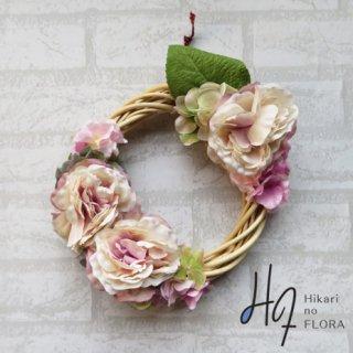 光触媒加工・壁掛けリース【wreath334】オシャレでシックなリースです。wreath(リース)は永遠と健康と愛情の象徴です。他の方とあまりかぶらない、嬉しい贈り物です。