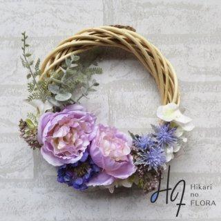 光触媒加工・壁掛けリース【wreath341】色彩が素敵なローズのオシャレなリースです。wreath(リース)は永遠と健康と愛情の象徴です。他の方とあまりかぶらない、嬉しい贈り物です。