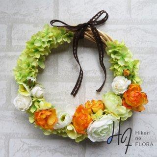 光触媒加工・壁掛けリース【wreath354】オシャレな壁掛けです。wreath(リース)は永遠と健康と愛情の象徴です。