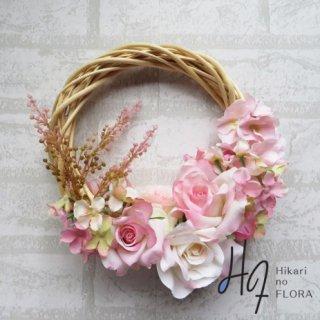 光触媒加工・壁掛けリース【wreath357】オシャレな壁掛けです。wreath(リース)は永遠と健康と愛情の象徴です。