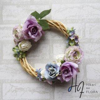 光触媒加工・壁掛けリース【wreath360】オシャレな壁掛けです。wreath(リース)は永遠と健康と愛情の象徴です。