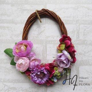 光触媒加工・壁掛けリース【wreath364】オシャレな壁掛けです。wreath(リース)は永遠と健康と愛情の象徴です。