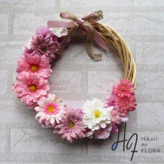 光触媒加工・壁掛けリース【wreath368】オシャレな壁掛けです。wreath(リース)は永遠と健康と愛情の象徴です。