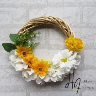 光触媒加工・壁掛けリース【wreath369】オシャレな壁掛けです。wreath(リース)は永遠と健康と愛情の象徴です。
