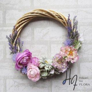 光触媒加工・壁掛けリース【wreath371】オシャレな壁掛けです。wreath(リース)は永遠と健康と愛情の象徴です。