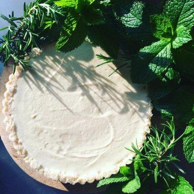 CLASSIC RAW CHEESE CAKE TART  / クラシックローチーズケーキタルト(直径18cm)