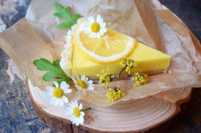 SEASONAL : LEMON TART RAW CAKE / 季節限定 レモンローケーキタルト(直径18cm)