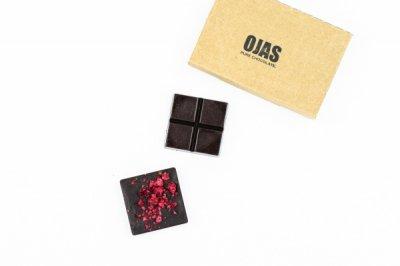RASPBERRY BOX RAW CHOCOLATE  / ボックスローチョコレート