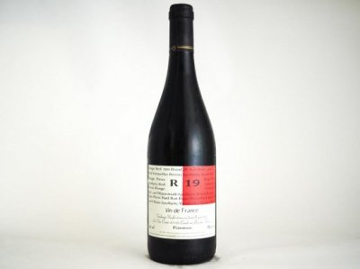 NATURAL WINE 「R19 / Les Vins Contes (赤)」 x OJAS RAW CHOCOLATE SET  <ナチュラルワイン(赤)とローチョコレートのセット9>