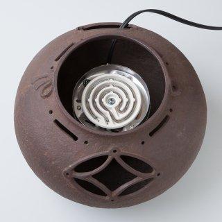 瓢箪切合せ 風炉釜用電熱器