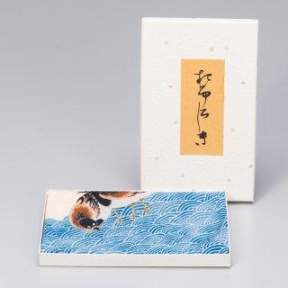 風呂敷(小)  せきれい文様 (ポリエステル)