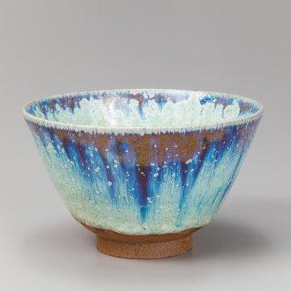 春茜銀河茶碗 (椀形) 中尾哲彰作