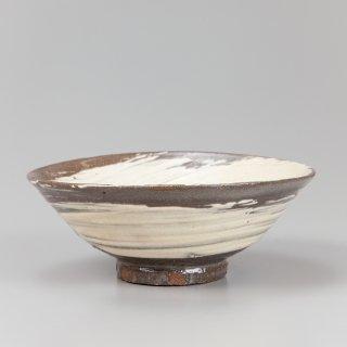刷毛目茶碗 清水日呂志作
