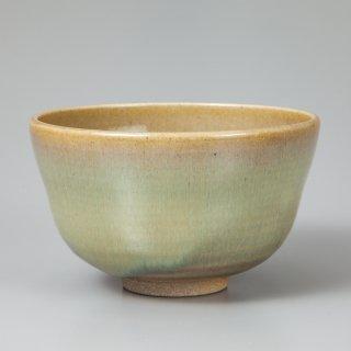 陽炎園 膳所焼灰釉茶碗