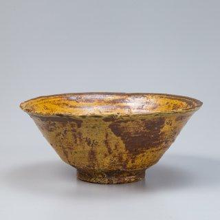 廣州窯 伊羅保茶碗