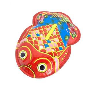 ブリキ浮き金魚