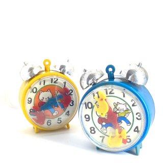 おもちゃの目覚まし時計