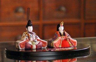 喜雲雛 桜(小判台飾り)