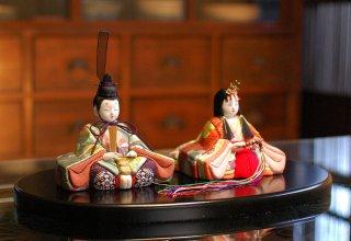 喜雲雛 梅(小判台飾り)