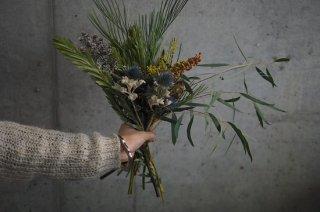 dried flower bouquet S
